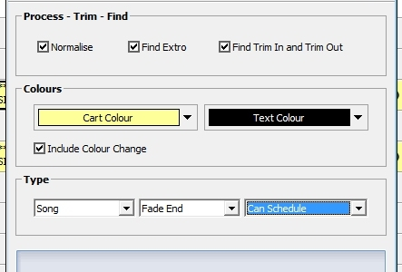 find end of audio auto trim audio manage music library