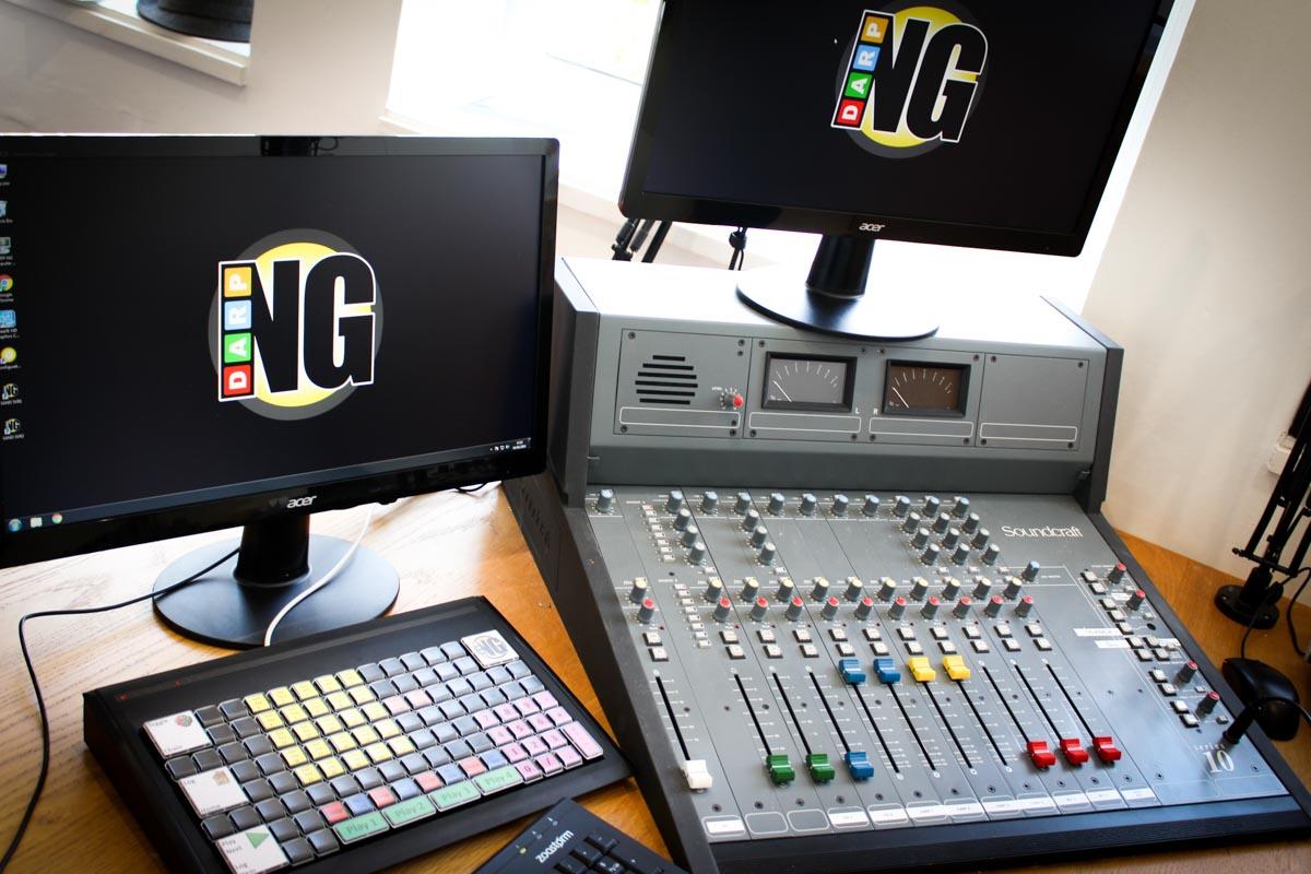 Sandgrounder Radio Studio 1